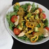 Tex-Mex Salad with Salsa Vinaigrette