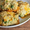 Easy Cheesy Bacon Biscuits