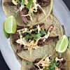 Slow Cooker Korean Brisket Tacos